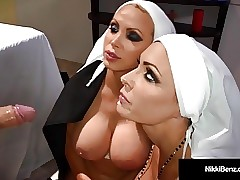 Nun hot videos - sex with my mom